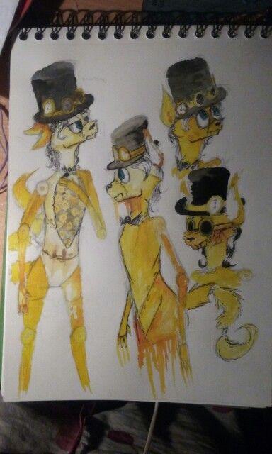 Thomas steampunk style
