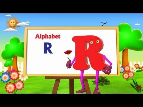 Letter R Song | 3D Animation | Learning English Alphabet ABC Songs | Songs For children | Funable and Interesting.