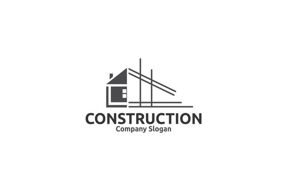 Construction logo by BekBlack on @creativemarket