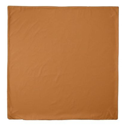 Burnt Orange Duvet Cover - red gifts color style cyo diy personalize unique