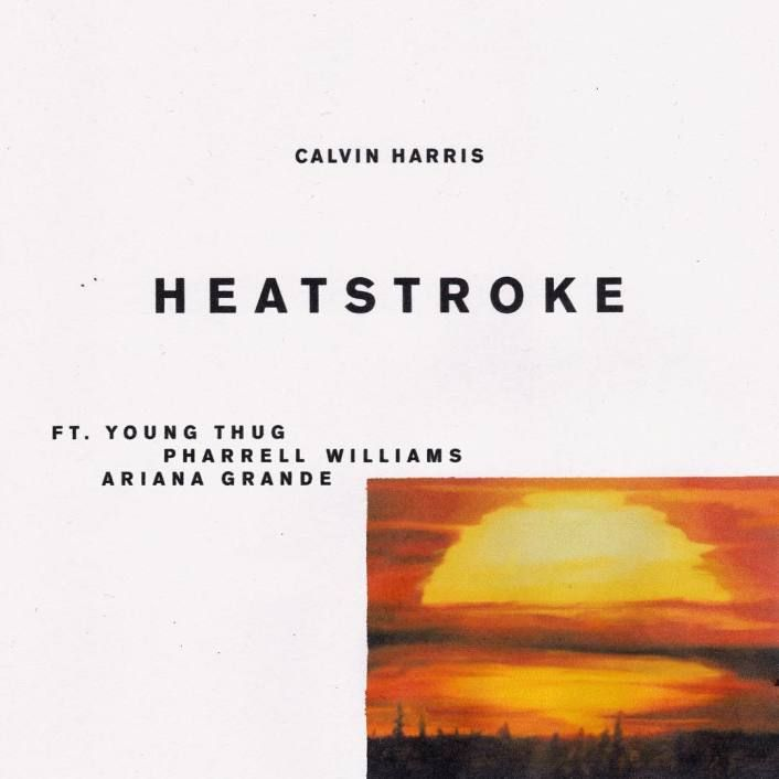 "Calvin Harris Drops Huge Collaboration ""Heatstroke"" With Pharrell Williams, Young Thug, & Ariana Grande  Calvin Harris  is on a roll with his high-profile collaborations as he's just unleashed his highly anticipated new single ""Heatstroke"" featuring  Young Thug ,  Pharrell Williams , and  Ariana Grande .    This follows up his recent massive track "" Slide "" alongside Frank Ocean and Migos that's been incredibly successful already. This time around he's delivered a catchy feel-good t.."