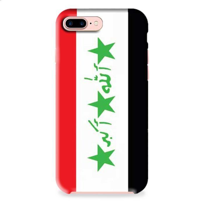 Iraq Flag iPhone 7 3D Case Dewantary