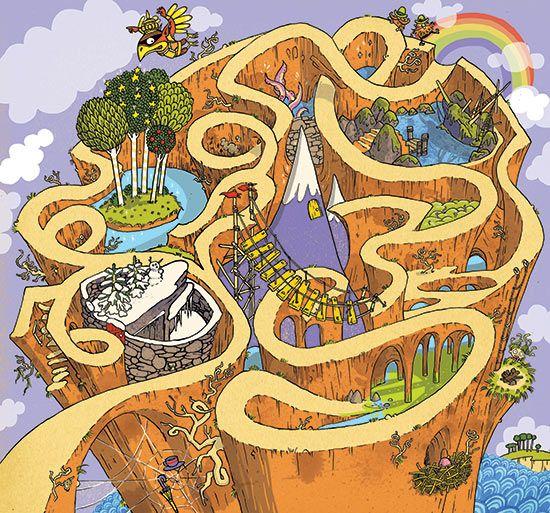 The Mythical Maze.