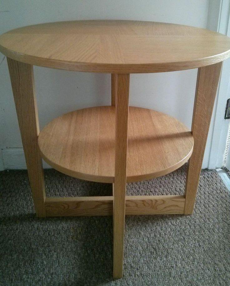 Coffee Table IKEA Vejmon Oak Veneer