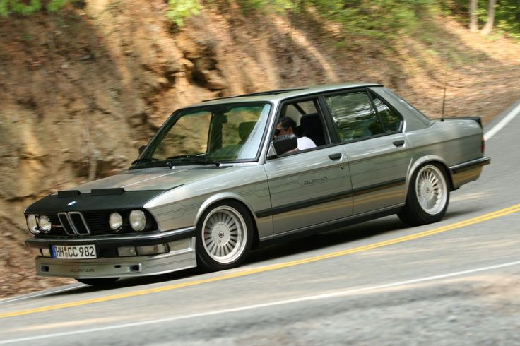 Bring a Trailer's got an extremely rare and cool 1986 BMW Alpina B7 Turbo up for grabs.