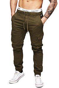 INDICODE Hommes Pantalon Cargo 5851 Montagne Vintage aéroportées Pantalon Cargo Armée Chino Ranger Pants Mens Chino Jeans S M L XL XXL