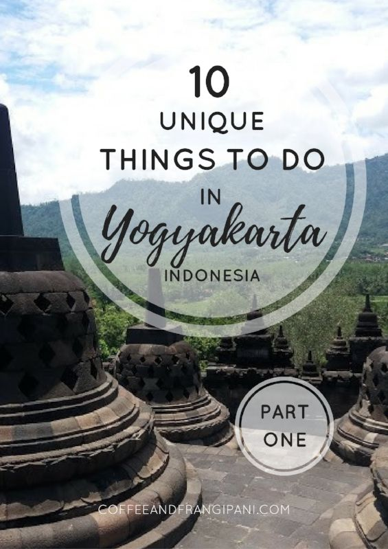 Make your trip to Yogyakarta perfect by adding these must see places to your travel plan! Explore Borobudur Temple compounds and discover a hidden waterfall. 10 totally unique things to do in Jogja, the cultural heart of Java, Indonesia.