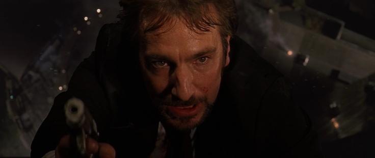 "Alan Rickman in ""Die Hard"" (John McTiernan, 1988)"