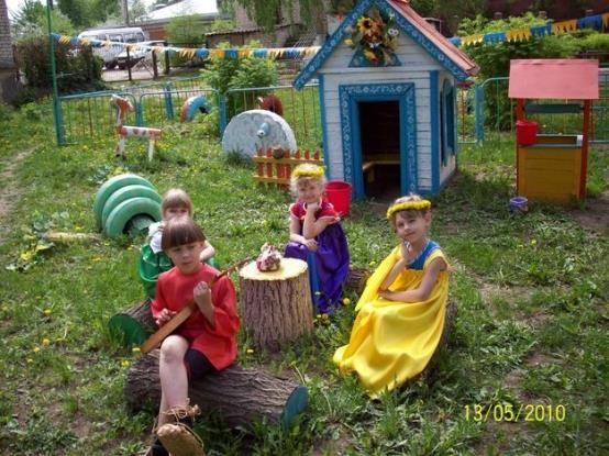 Патриотический уголок в детском саду русских костюмов