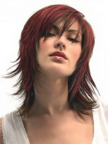 Frisuren Mittellang Stufig Fransig Haarfarben Kaufen Hair