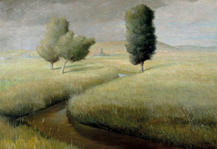 lazzaro-walter-allacqua-santa - Walter Lazzaro-A pintura dos silêncios
