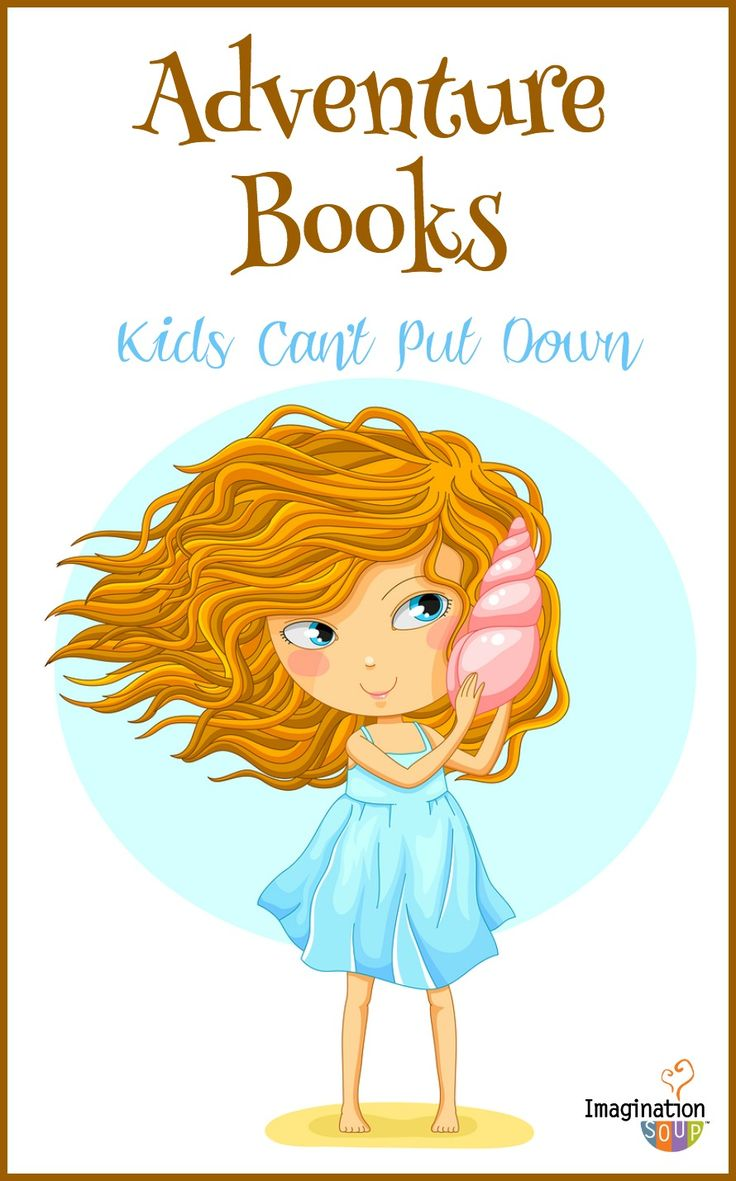 thrilling action and adventure books for kids - awesome list!
