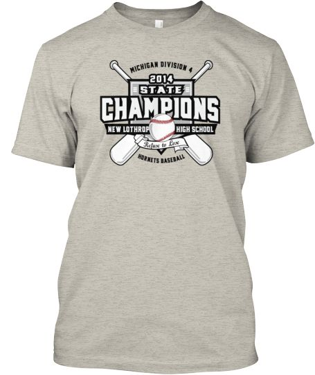 new lothrop state baseball championships commemorative tee if you
