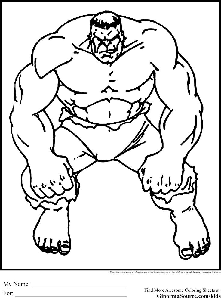 The Avengers Coloring Pages Hulk | Avengers party | Pinterest