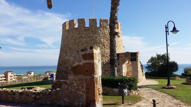 Der alte Turm von Torrevieja