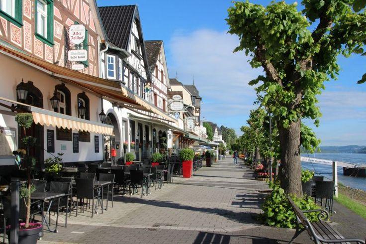 Promenade in Bad Breisig am Rhein