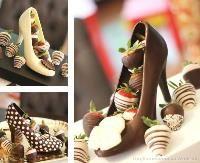 В Европе модницам дарят  на праздники не торты, не макаруны, а шоколадные ... туфли!!! Новый кондитерский тренд 2014 выглядит стильно и элегантно, смотрите сами!