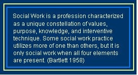 Social work quote (thought it was neat when I saw who quoted this :))