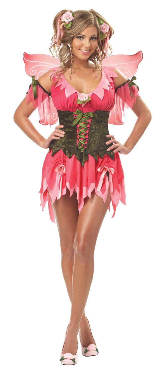 Amazoncom California Costumes Womens Rose Fairy Costume -9715