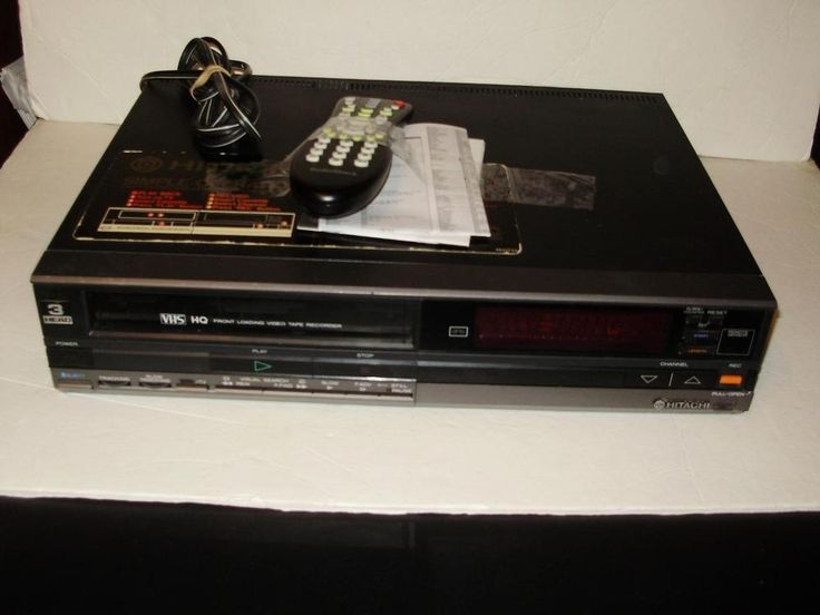 Pin By Vintage Collectibles Prestige Online On Vcr Player