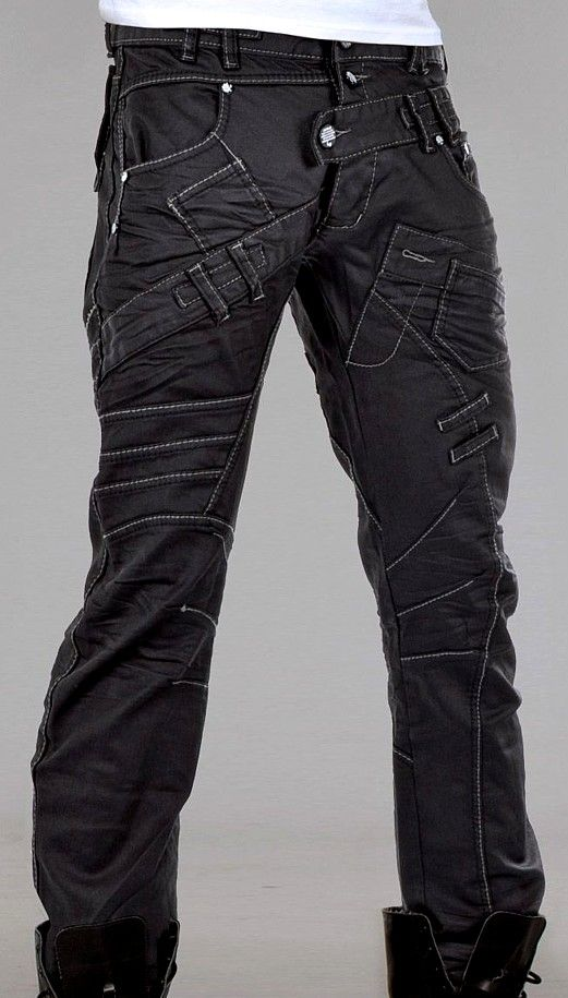 Akita pants by Cryoflesh #cyberpunk #industrial #goth | Raddest Men's Fashion Looks On The Internet: http://www.raddestlooks.org