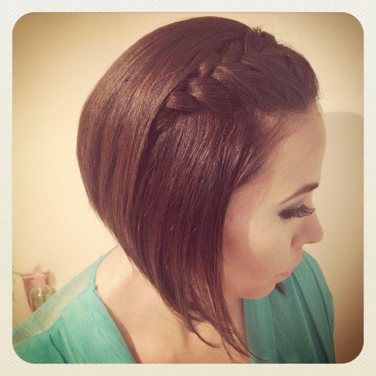 #peinado #cabello #corto #trenza #alecastillo