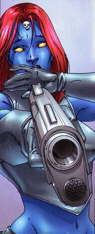Mystique is just cool