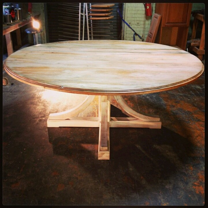 Just Finished This Round Table! It Had A Nice Photo Shoot.