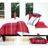 Found it at Wayfair Australia - Livewire Quilt Cover Set in Red with Black, White and Grey