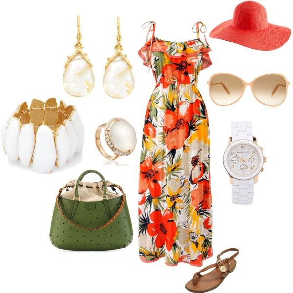 Tropically White, created by scorpi0sweetii.polyvore.com