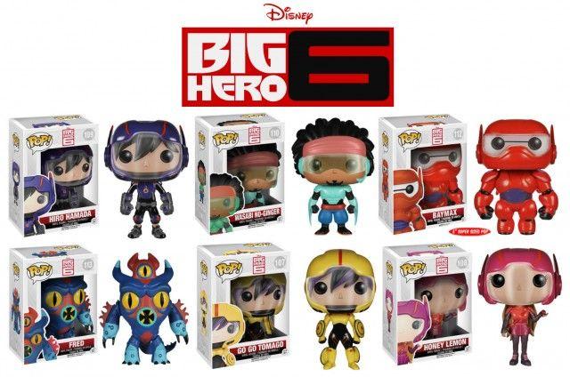 Big Hero 6 Pop Vinyl Figures Announced For October | WDW News Today