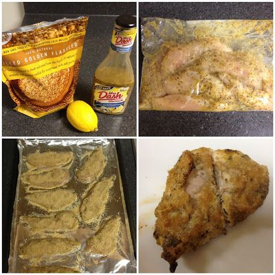 Quick, Easy, and Healthy Breaded Chicken