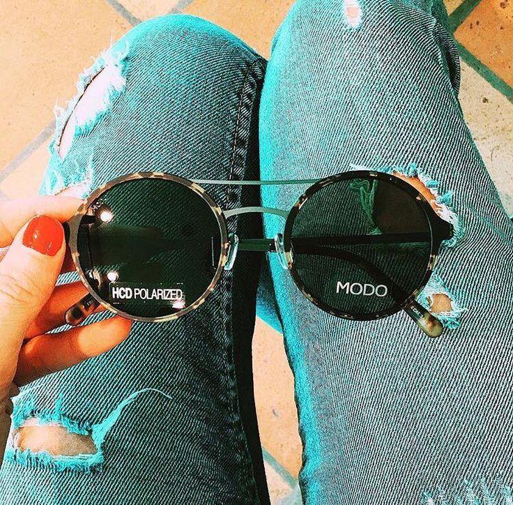 MODO Paper-Thin Titanium sunglasses at Ottica Venturelli.