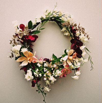Autumn palette || Flower crown