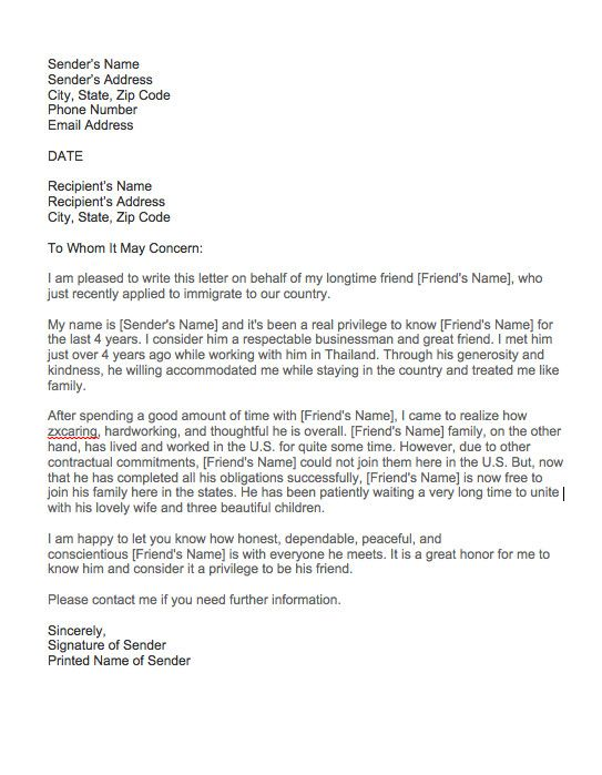 Moral Character Reference Letter Personal from i.pinimg.com