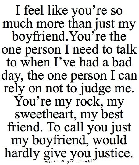 So my BF said goodnight and I love you as usual. But for some reason it made me more happy. :) I love him. <3