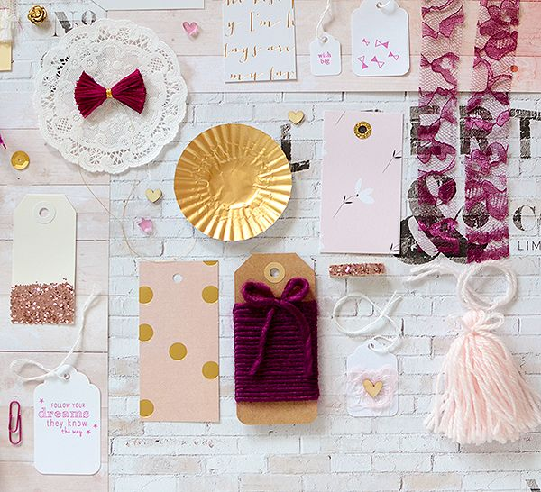 thurstonpost: new kits!  {pink + gold overload? no such thing!}
