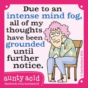 Tuesday, September 27, 2016 | GoComics.com - Aunty Acid by Ged Backland | Bloglovin'