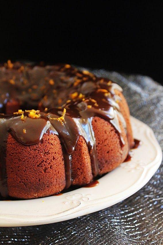 Cozinhadaduxa: Bolo de Chocolate com Laranja e Especiarias