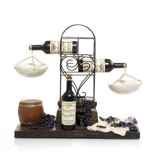 yankee candle three wine bottle tarts wax melts warmer or burner http