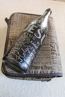 Bottle Beauty: Chalkboards Paintings, Religious Chalkboards, Diy Chalkboards