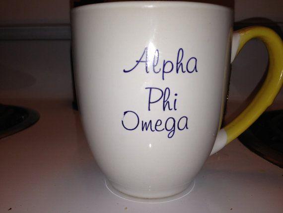 Alpha Phi Omega Coffee Mug