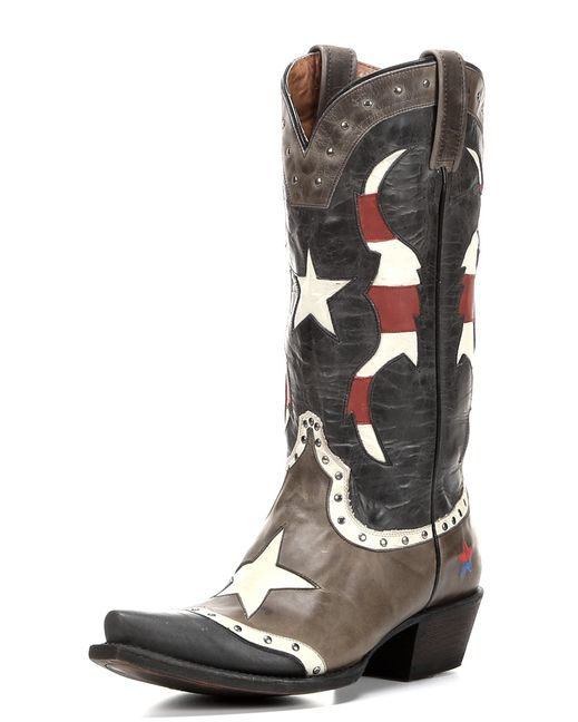 American Rebel Boot Company Women's Redneck Riviera Clearwater Boot - Aged Gray & Black  http://www.countryoutfitter.com/products/85348-womens-clearwater-boot-aged-gray-and-black