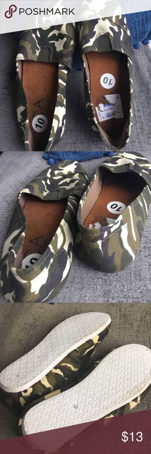 New camo Tom-like shoes New camo Tom-like shoes Shoes Flats & Loafers