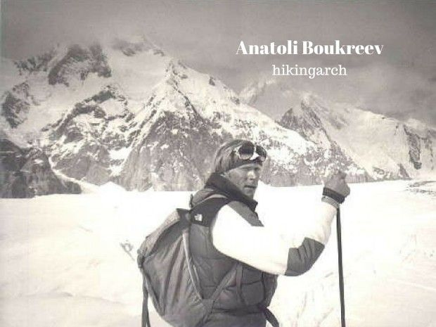 Anatoli Boukreev - respected across the world