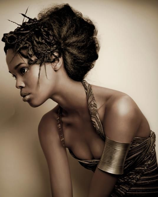 Awesome Medium Black Hairstyle - Homecoming Hairstyles 2014