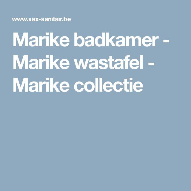 Marike badkamer - Marike wastafel - Marike collectie