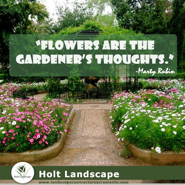 49 Best Garden Quotes Images On Pinterest   Garden Quotes Landscape And Landscaping