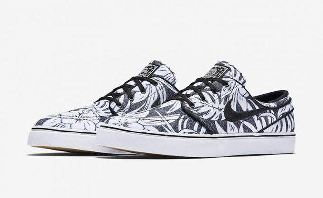 http://SneakersCartel.com Nike SB Stefan Janoski Canvas Premium 'Floral' in Black and White #sneakers #shoes #kicks #jordan #lebron #nba #nike #adidas #reebok #airjordan #sneakerhead #fashion #sneakerscartel