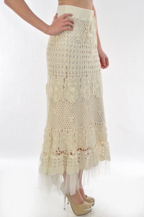the most amazing crochet skirt!!